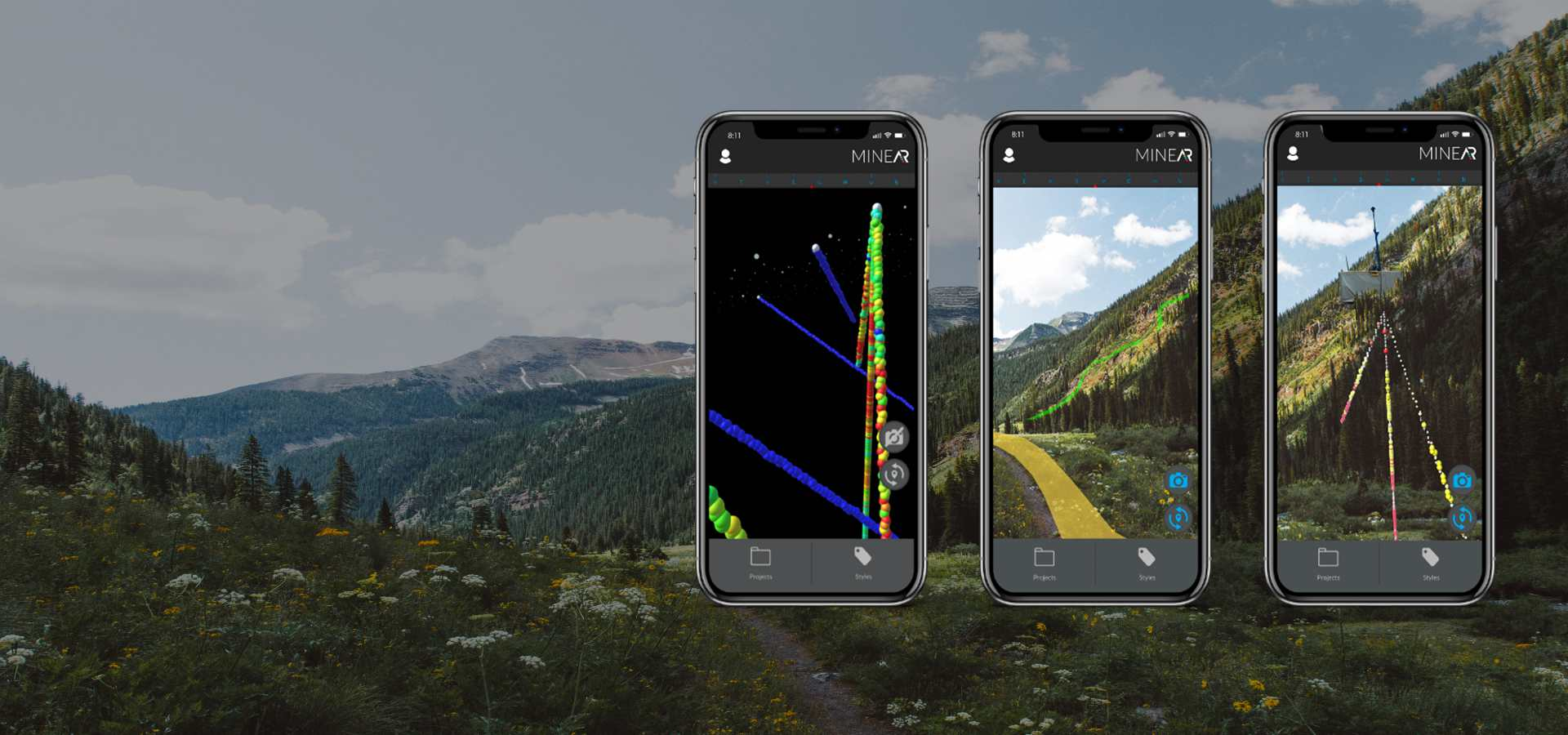MINEAR: View gIS data on your phone in the field.